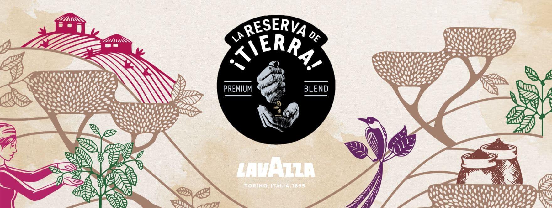 Tierra Lavazza Banner